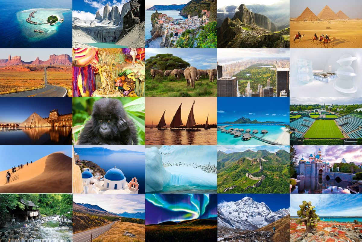 Intriguing & Amazing Destinations Site Search & Selection
